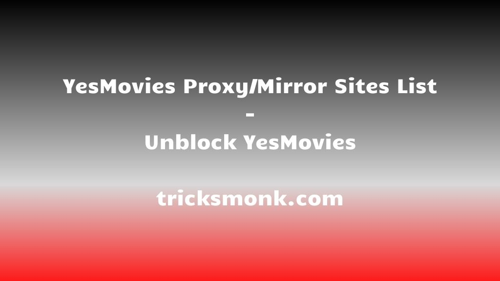 YesMovies Proxy